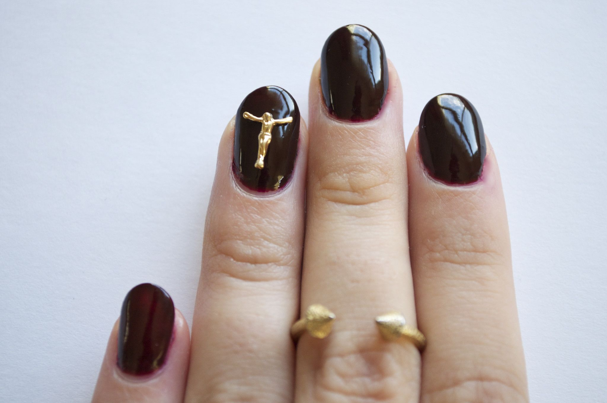 Crucifix from Hex Nail Jewelry