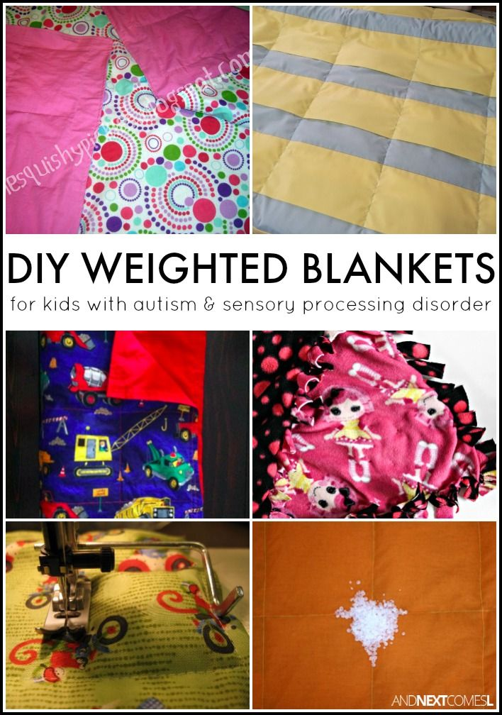 How To Make A Diy Weighted Blanket Sensory Hacks For Kids
