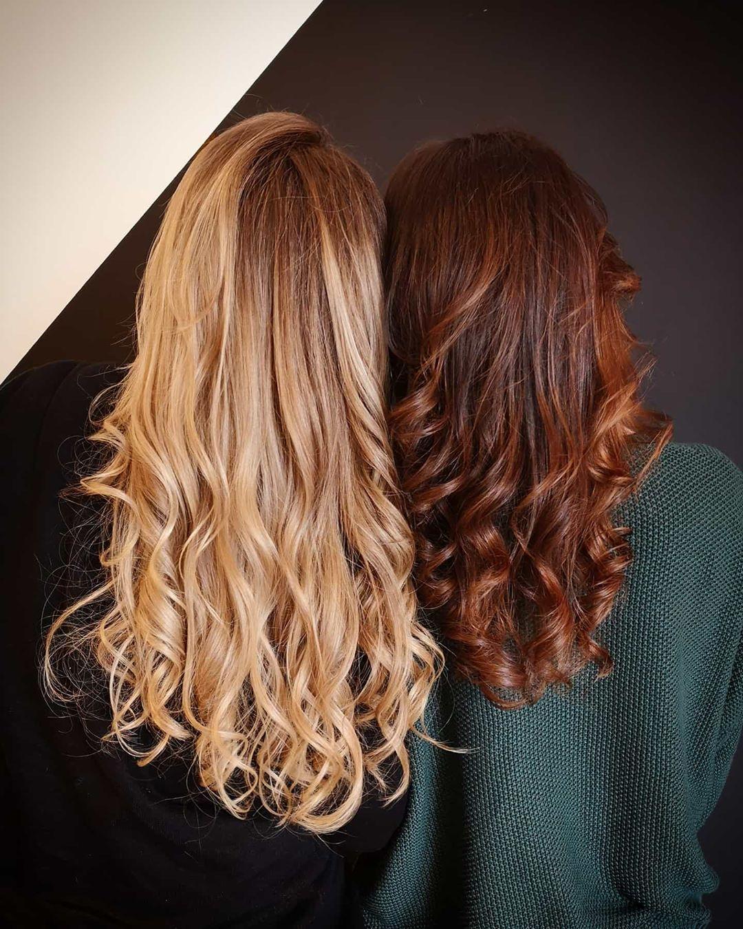 Blondhair Brownhair Couleur Cheveux Idees De Coiffures Idees Cheveux Longs