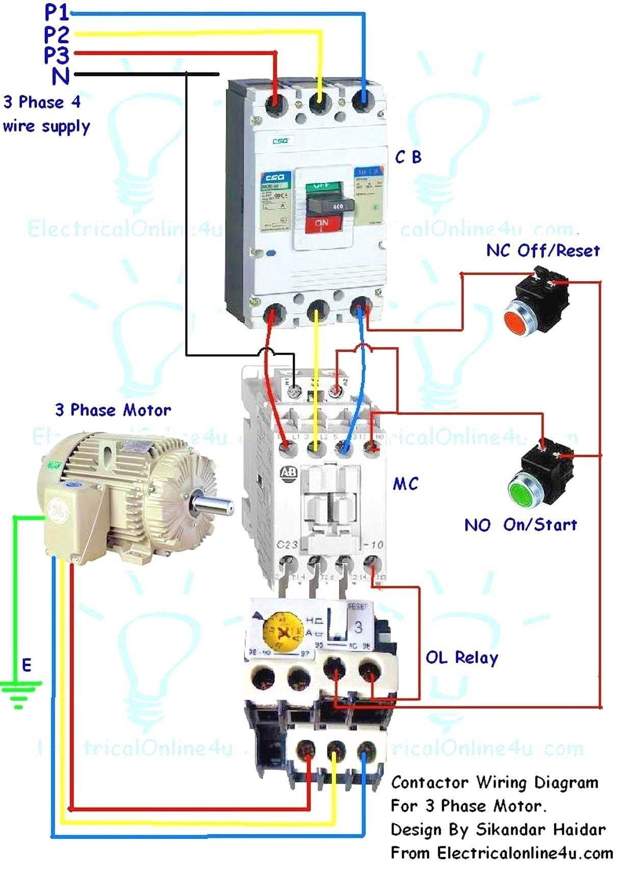 Electrical Contactor Wiring Diagram Dat Wiring Diagrams In 2020 Electrical Circuit Diagram Circuit Diagram Electrical Projects