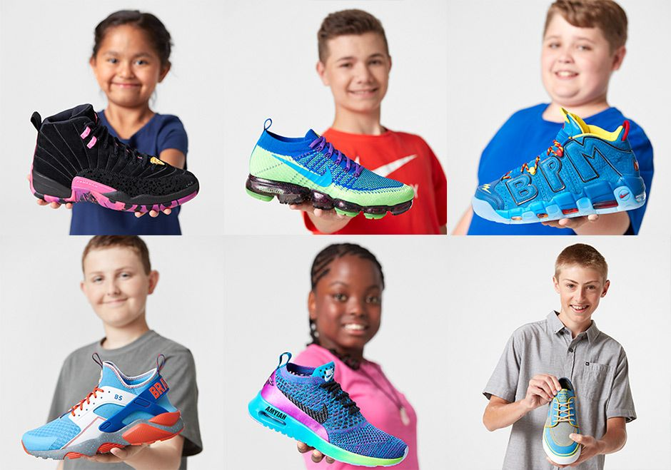 sneakers  news Nike Doernbecher Freestyle XIV Collection Includes Air More  Uptempo fa1db60563