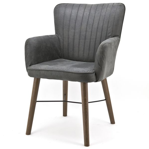 Stuhl Mit Armlehne Holz