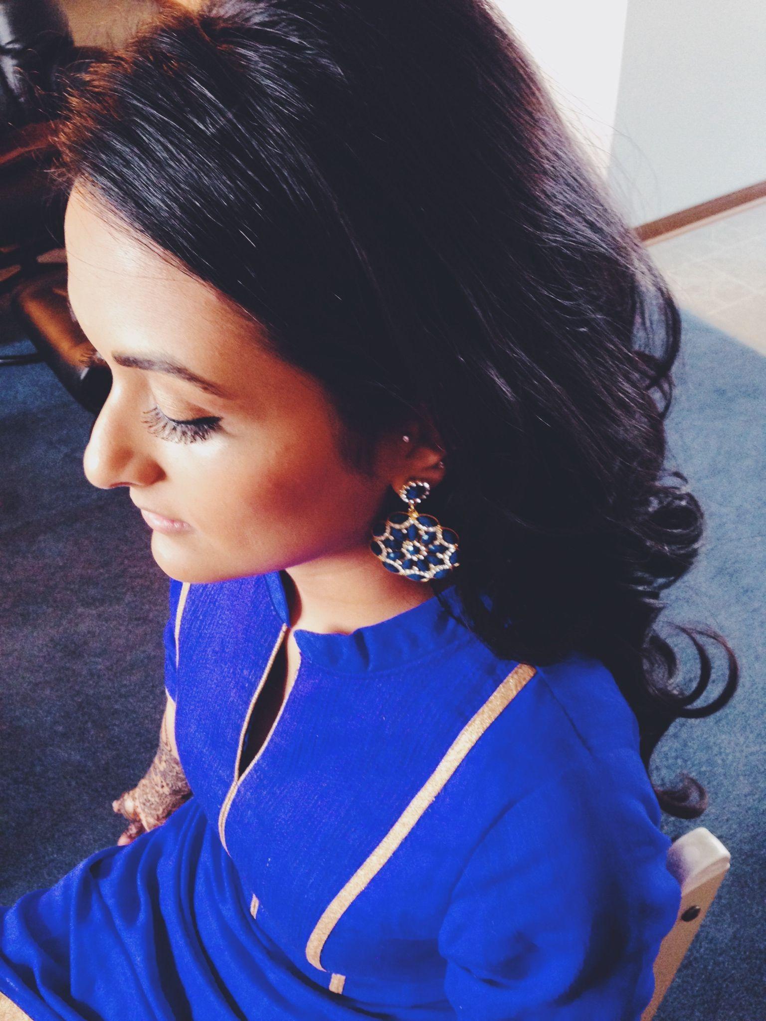 Mehndi Night Makeup : Day mehndi night hair and makeup by payleemua gopi weds