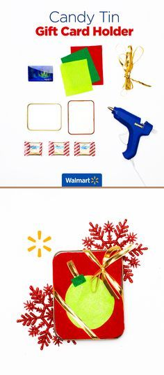 Candy Tin Gift Card Holder | Walmart - Add a sweet personal touch ...