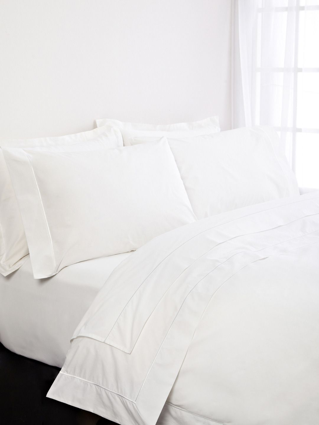 One Bourdon Percale Duvet Cover Duvethome Bed White