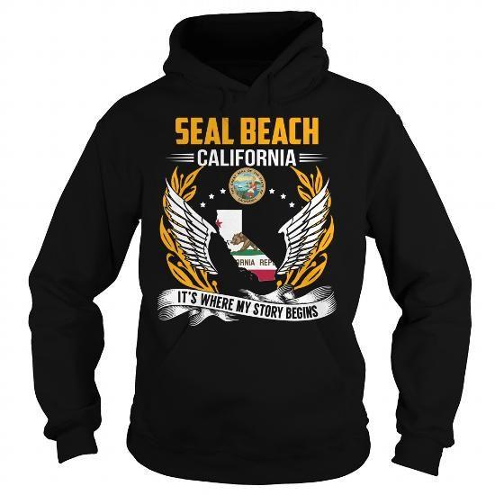 Seal Beach, California It's Where My Story Begins T Shirts, Hoodies. Get it here ==► https://www.sunfrog.com/States/Seal-Beach-California--Its-Where-My-Story-Begins-103246690-Black-Hoodie.html?57074 $39.99