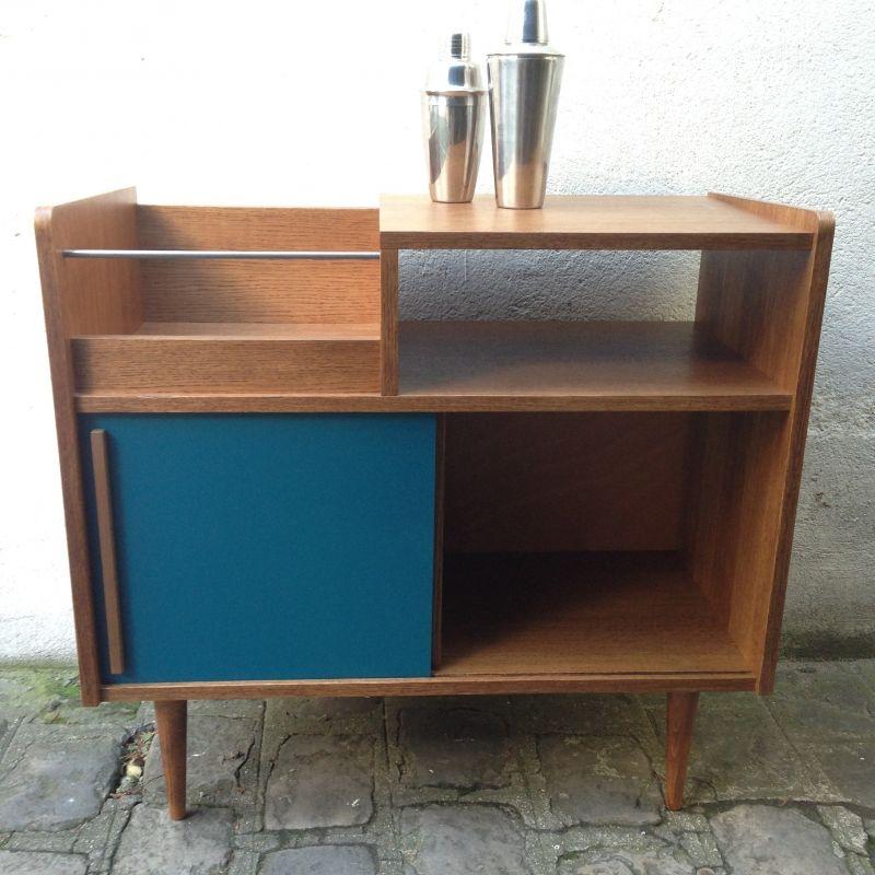 Meuble Hifi Bac Disquaire Amm Atelier Monsieur Madame Meubles Bois Handmade Paris Mobilier De Salon Meuble Bois Meuble Hifi