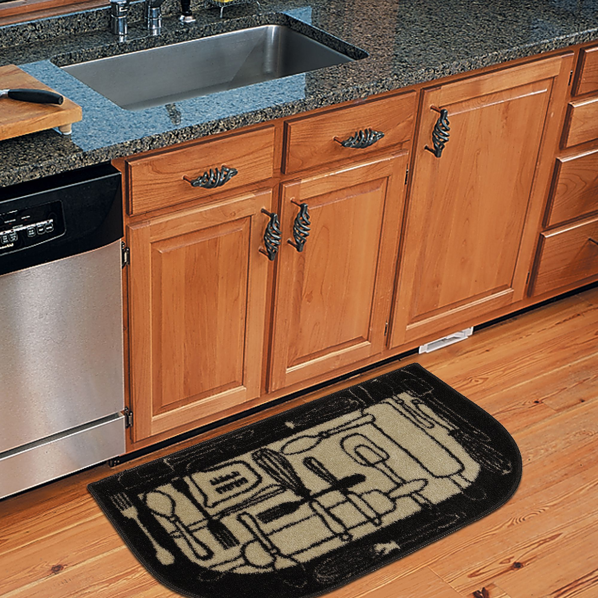 This Mohawk Home Kitchen Slice Rug Is Sure To Add Comfort And Charm