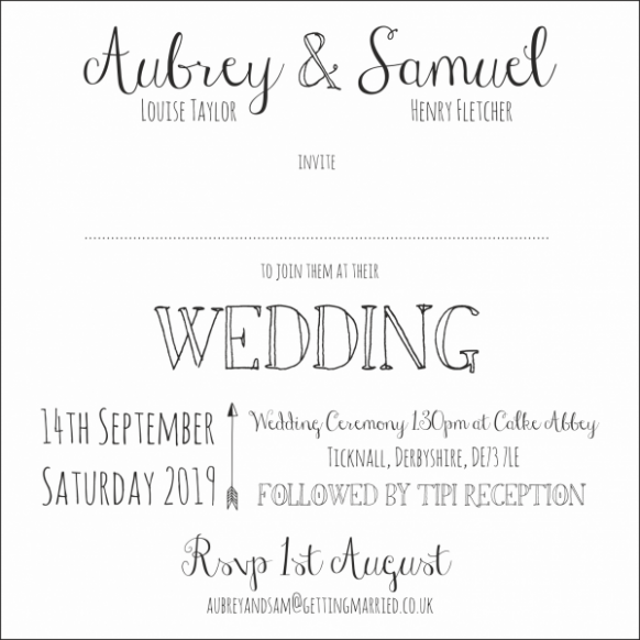 Ten Signs You Re In Love With Wedding Invitation Samples Uk Wedding Invitation Samples Uk