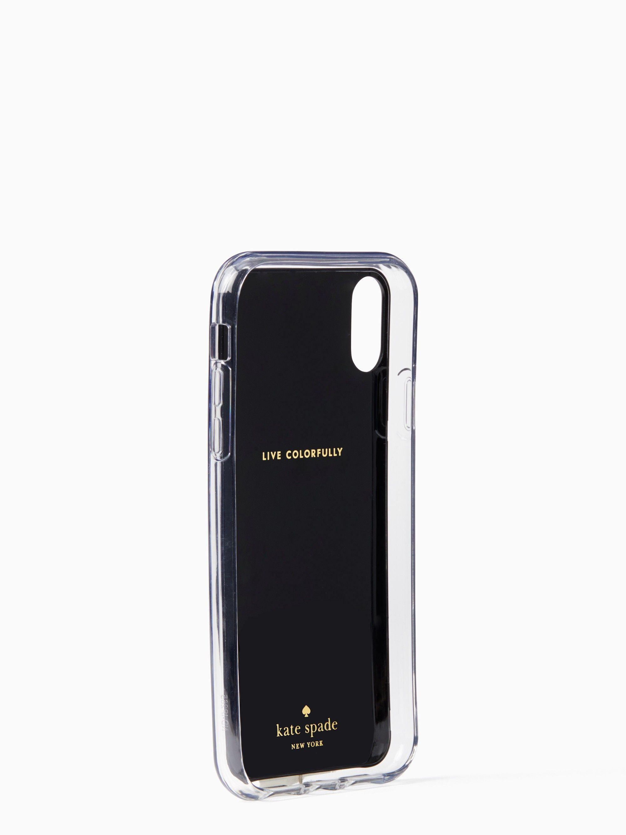 Tortoise Shell Hands Free Iphone Xr Case By Kate Spade Products