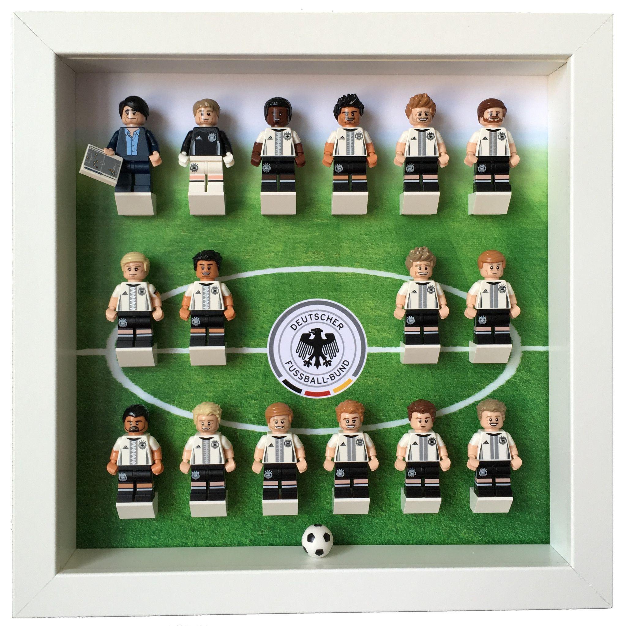 Lego Minifigures Display Frame Lego Dfb German Football Team Mini