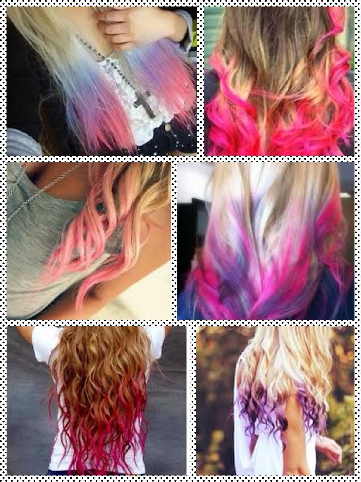 Cute Dip N Dye Hair Ideas Hair Pinterest Dye Hair Hair Dye