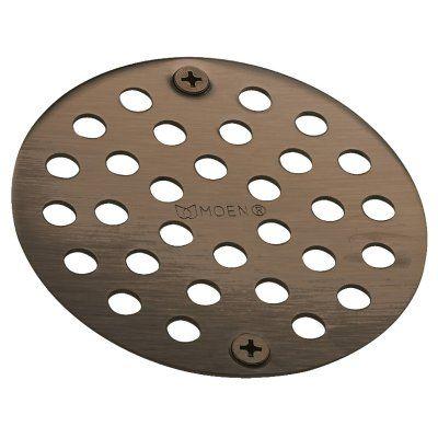 Moen Kingsley Oil Rubbed Bronze Tub Shower Drain Cover