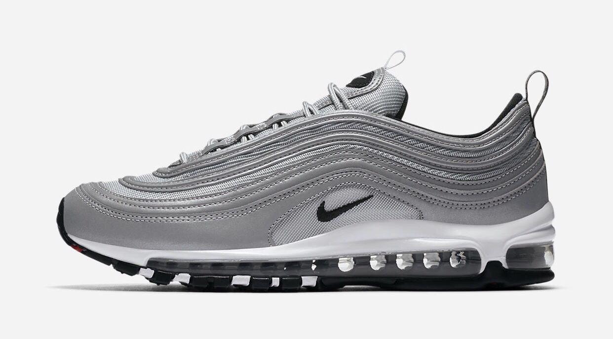 more photos fd24d fb879 ... Nike Air Max 97 (Reflective Silver)  Nike air max 90 zapatos deportivos  para los hombres negro gris claro blanco es82981721 calzado ...