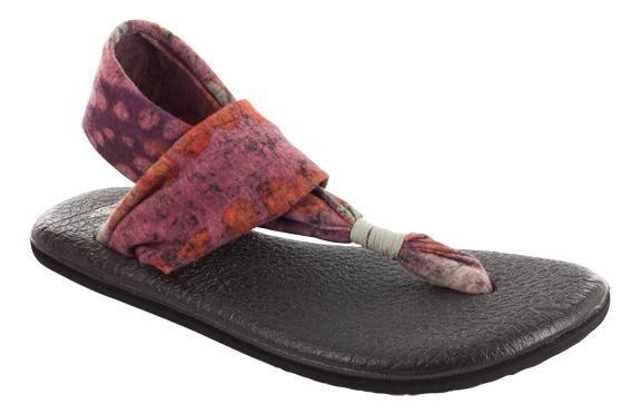 9cd9e40f975e Price   35.95 - Sanuk Yoga Mat sling is a forwardthinking style sandal that  combines a unique strap with Sanuks Yoga Mat footbed. Sandals in Sanuks Yoga  Mat ...