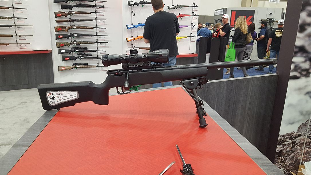 Nra 2018 Roundup Savage Rascal Rifle 22 Rifle Log Cabin Cabin