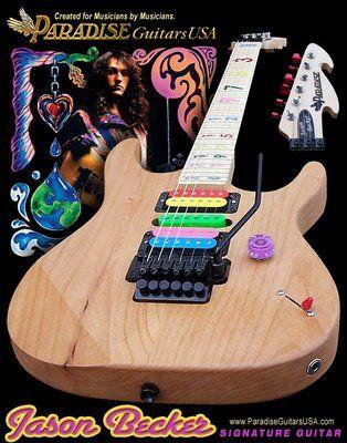 Jason Becker Paradise Guitar