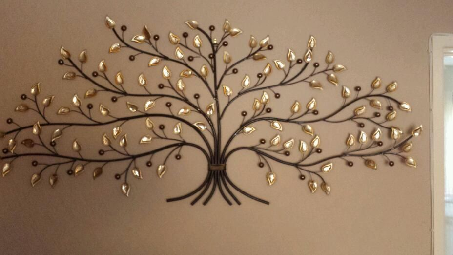Charming and Durable Metal Tree Wall Art — Garagejazz Wall Decor | A ...