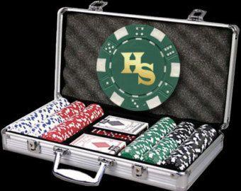 300 Custom Poker Chip Set - Great Christmas Gift!