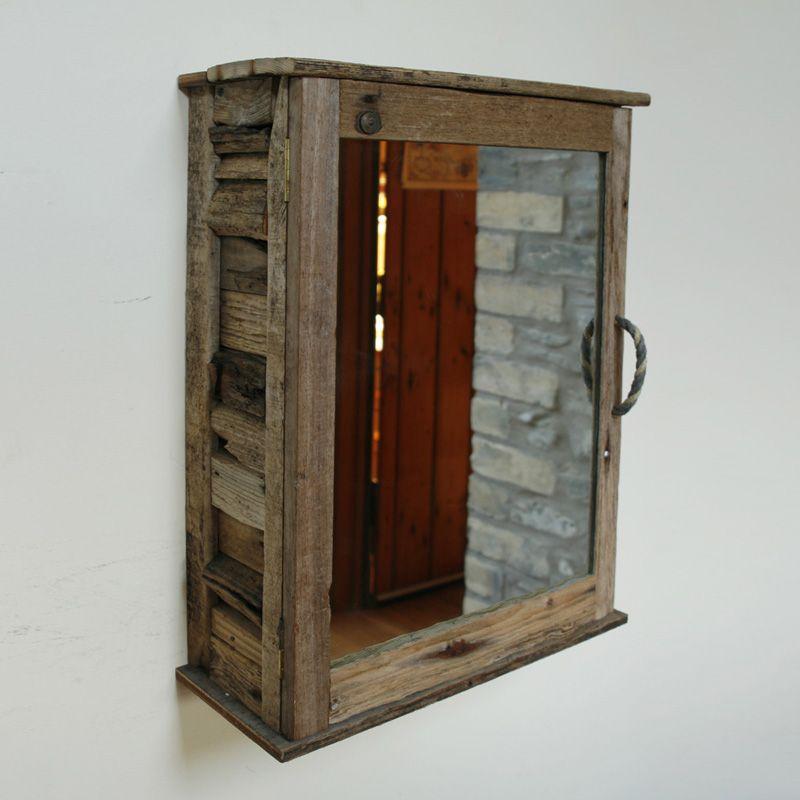 Driftwood Bathroom Cabinet Wood