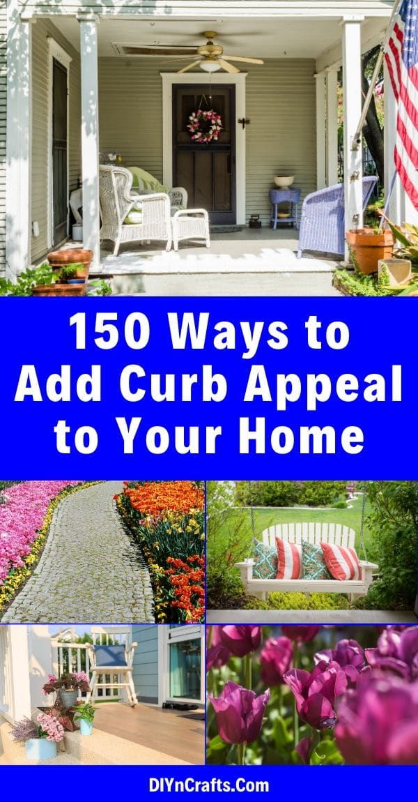 150 Remarkable Projects And Ideas To Improve Your Home S Curb Appeal In 2020 Curb Appeal Diy Curb Appeal Curb Appeal Inspiration