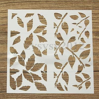 Layering Stencils Templates Mask Scrapbooking Painting Embossing Airbrush