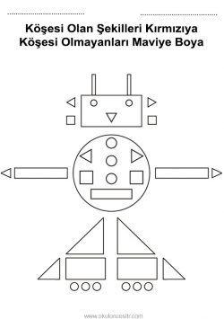 Kavram Calisma Sayfalari Preschool Concepts Worksheets Panosundaki Pin