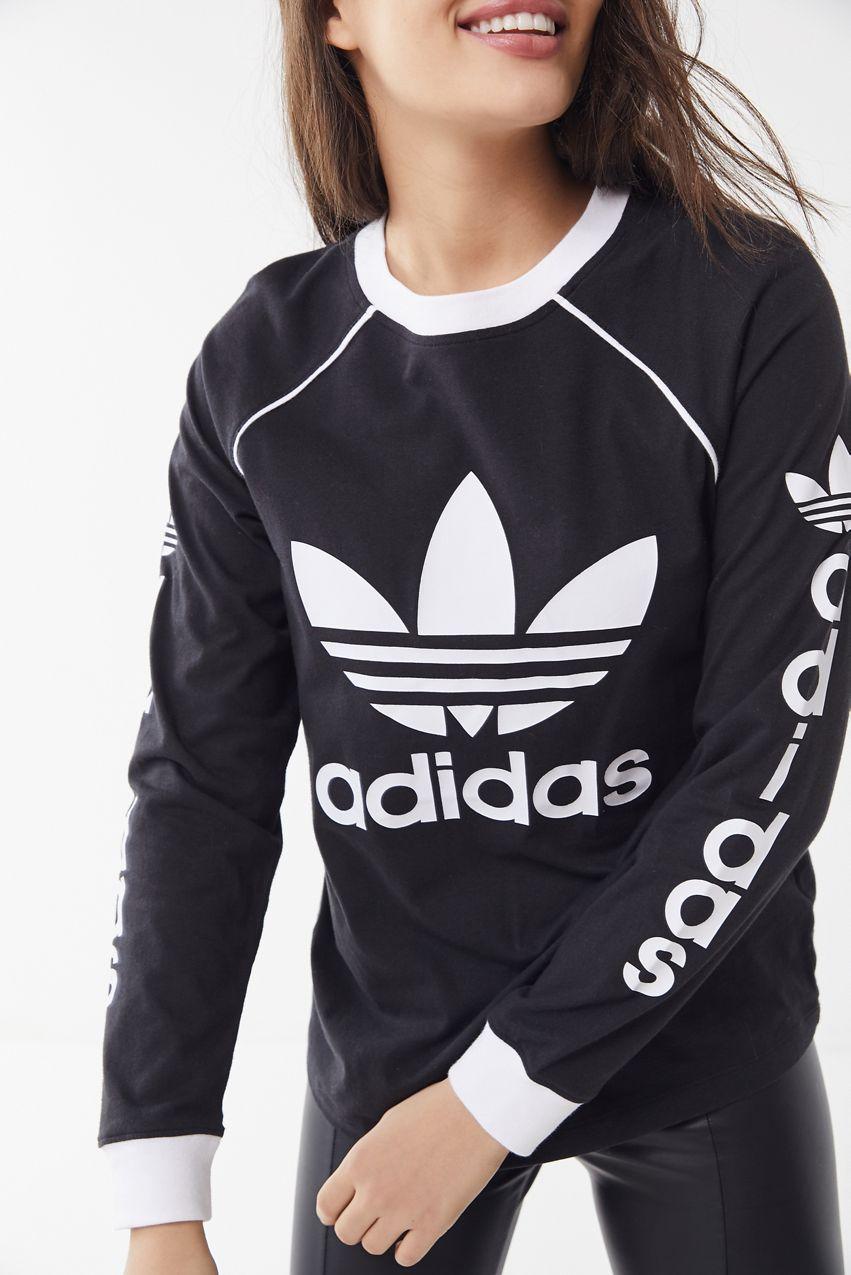 91a6c9cb5 adidas Originals OG Long Sleeve Tee | New Arrivals | Adidas, Adidas  originals, Long sleeve tees