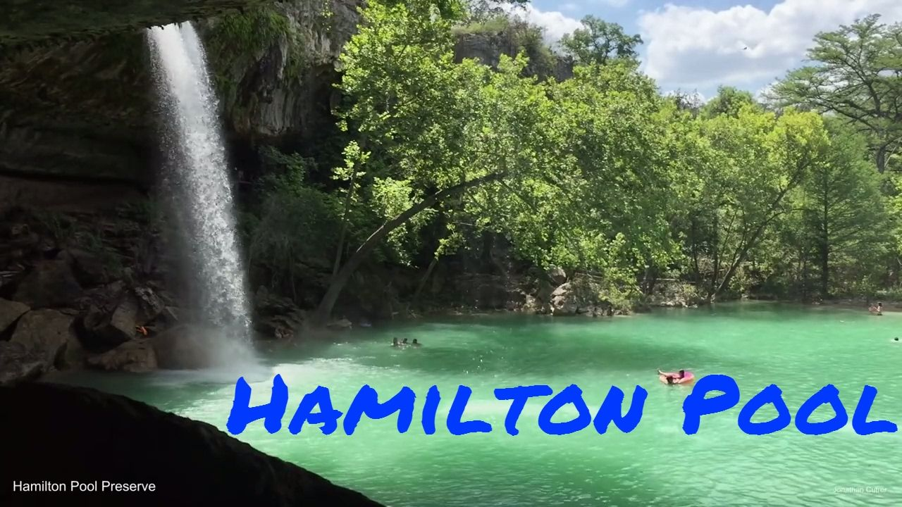 Experience hamilton pool waterfall near austin texas