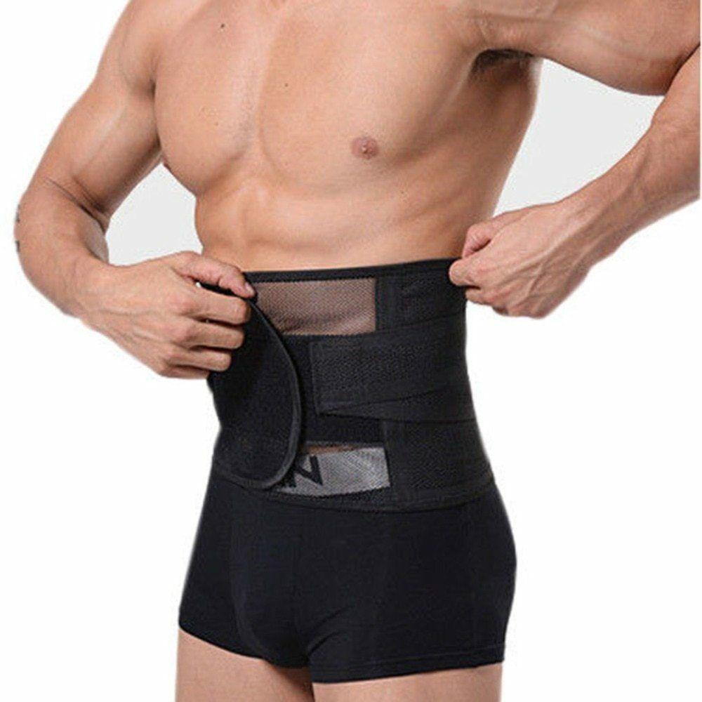 New Men Slimming Belt Body Shaper Belly Waist Tummy Women Slim Corset Fat Burner