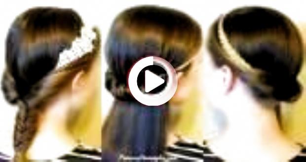 #Easy #Easy rapide Coupes de cheveux #Hairstyles #Headbands #Quick #School - #easy #coiffuresfaciles