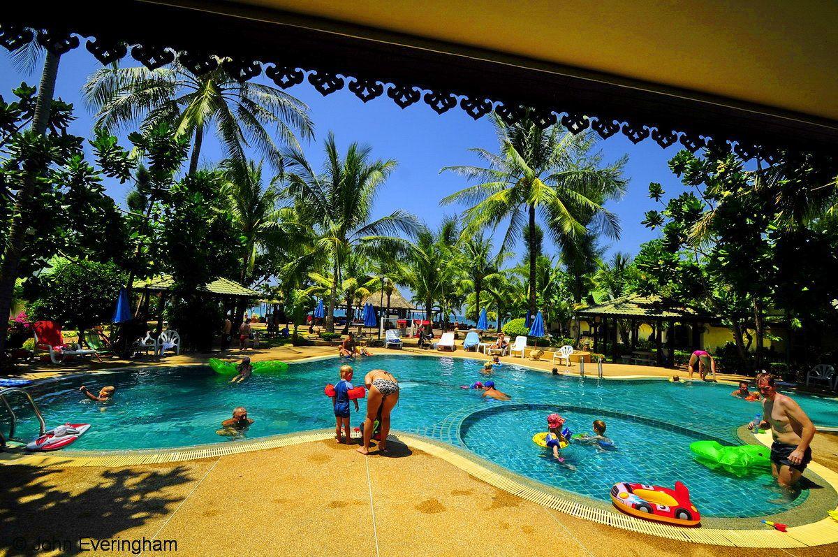 Klong Dao Beach, Koh Lanta, Thailand. Kids, kids, kids