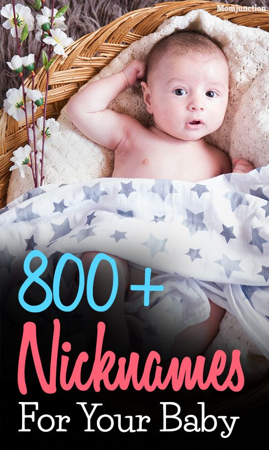 9e8c21a74ee7 800+ Cute Baby Nicknames Or Pet Names For Boys And Girls💕