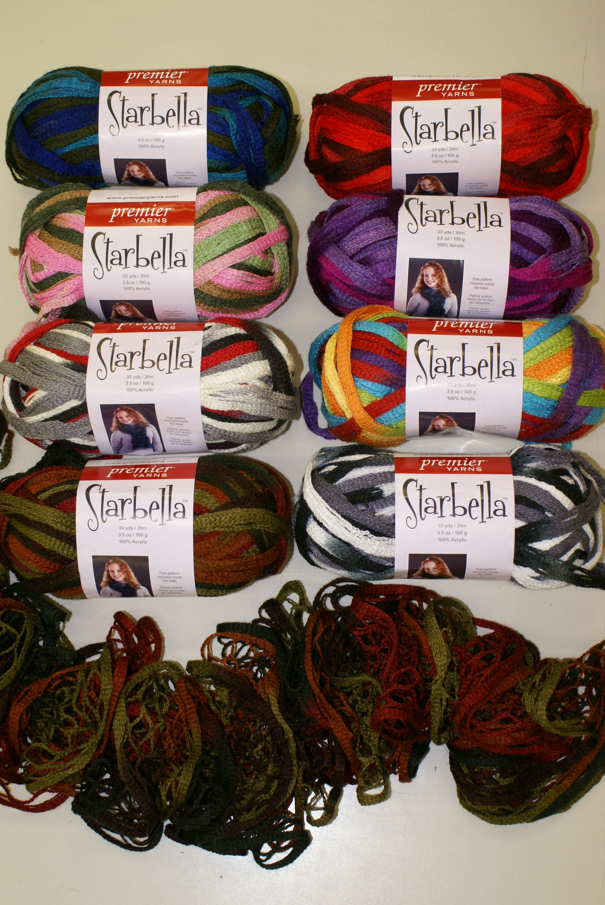 Starbella Yarn | Crochet/Knit Scarves | Pinterest
