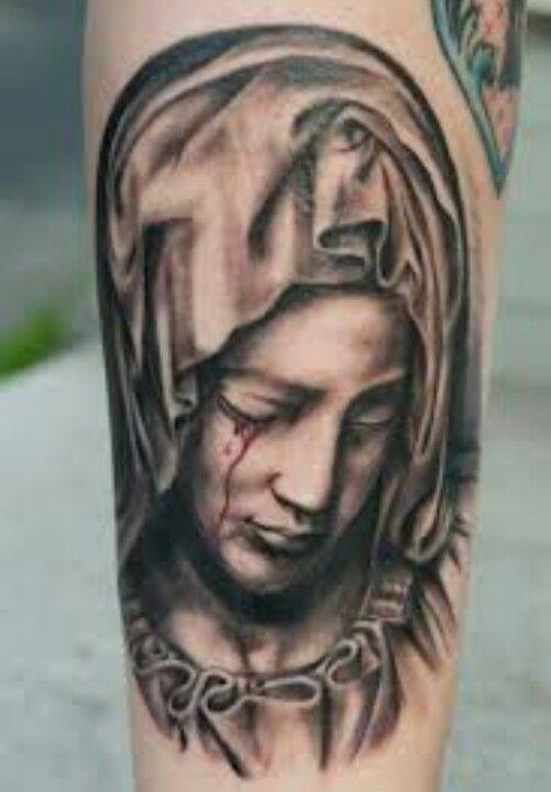 Virgin Mary Tatoo Pinterest