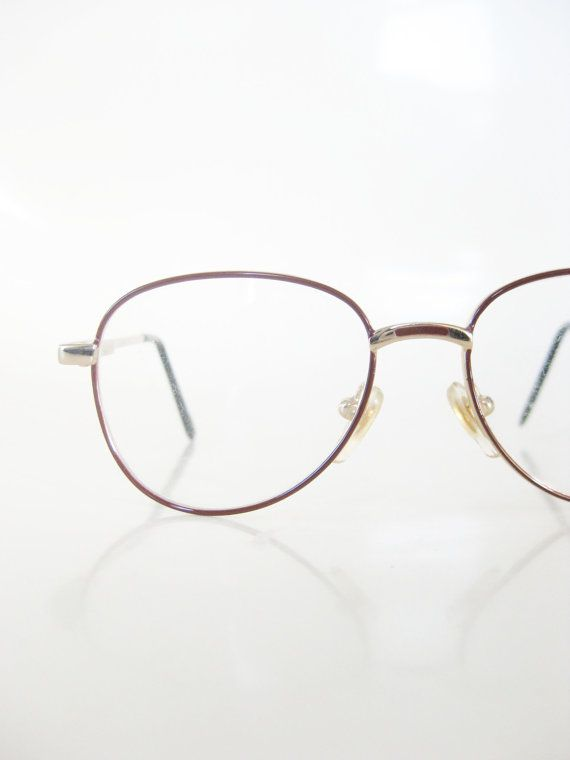kids round eyeglasses vintage 1980s metallic red gold wire rim Cheap Oakley Sunglasses Wholesale kids round eyeglasses vintage 1980s metallic red gold wire rim glasses children girls boys 80s eighties deadstock nos new old stock indie