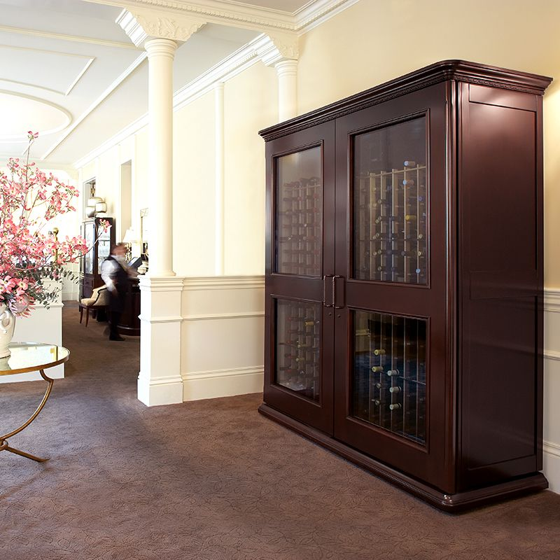 Le Cache Euro 5200 Wine Cabinet Chocolate Cherry 753 Wine
