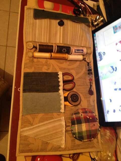 Costurero idea para hilos y canillas