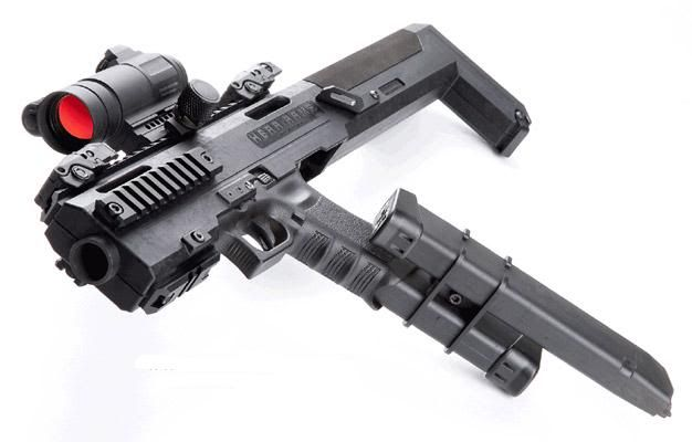Glock -> SBR conversion kit.