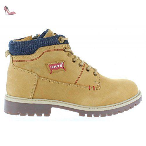 14d7fe55f4f11 Bottines pour Garçon et Fille LEVIS 508630 PIMPREZ CAMEL Taille 28 - Chaussures  levis (