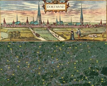 Dortmund Germany Map Then And Now Httpold - Germany map then and now