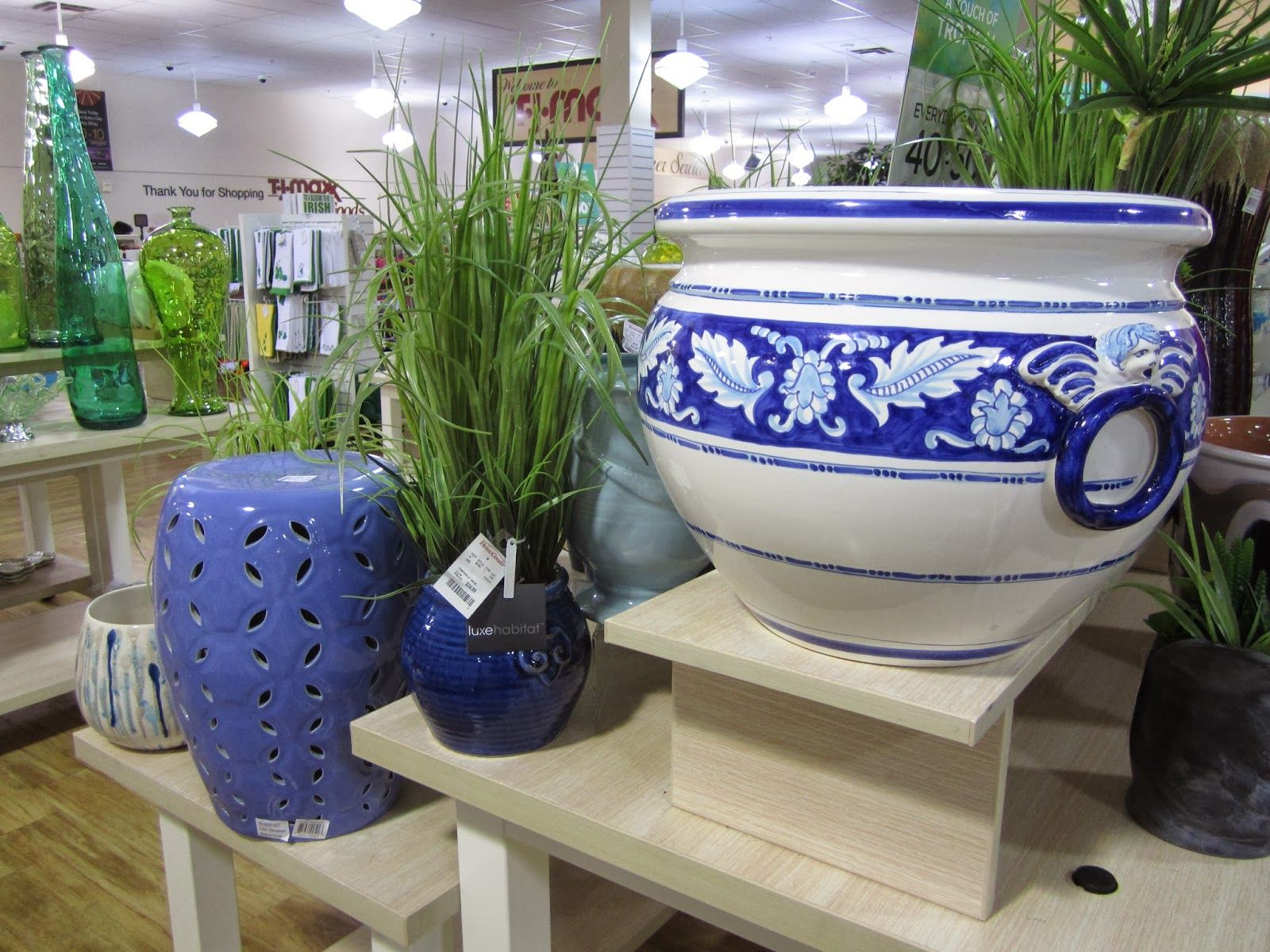Beau Inspire Bohemia: TJMaxx Homegoods Heaven: Garden Stools, Planters And Decor  For Spring, Plus The African Bazaar Is Back!