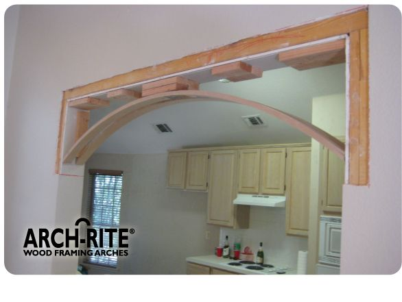 Arch Kit For Kitchen Passthrough Archways In Homes Archway Decor Home Remodeling