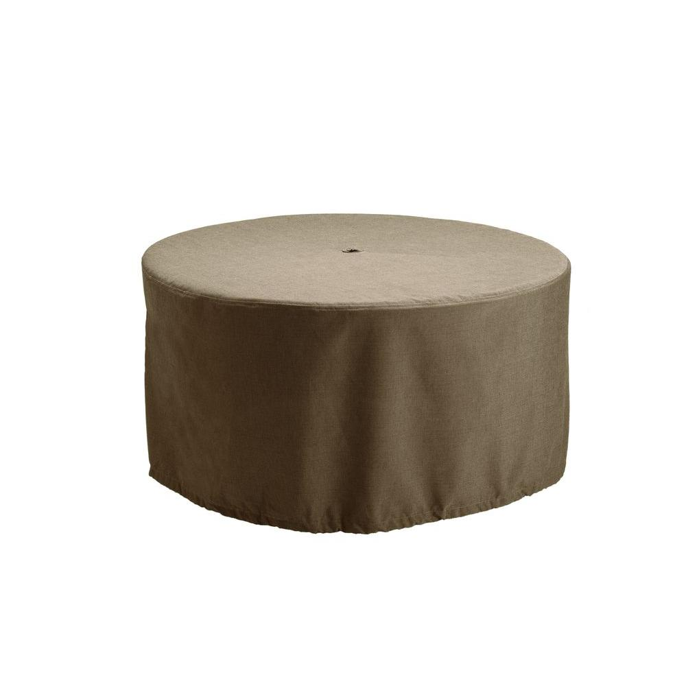 Brown Jordan Greystone Patio Furniture Cover For The Dining Table 3872 6000 The Home Depot Patio Furniture Covers Furniture Covers Brown Jordan