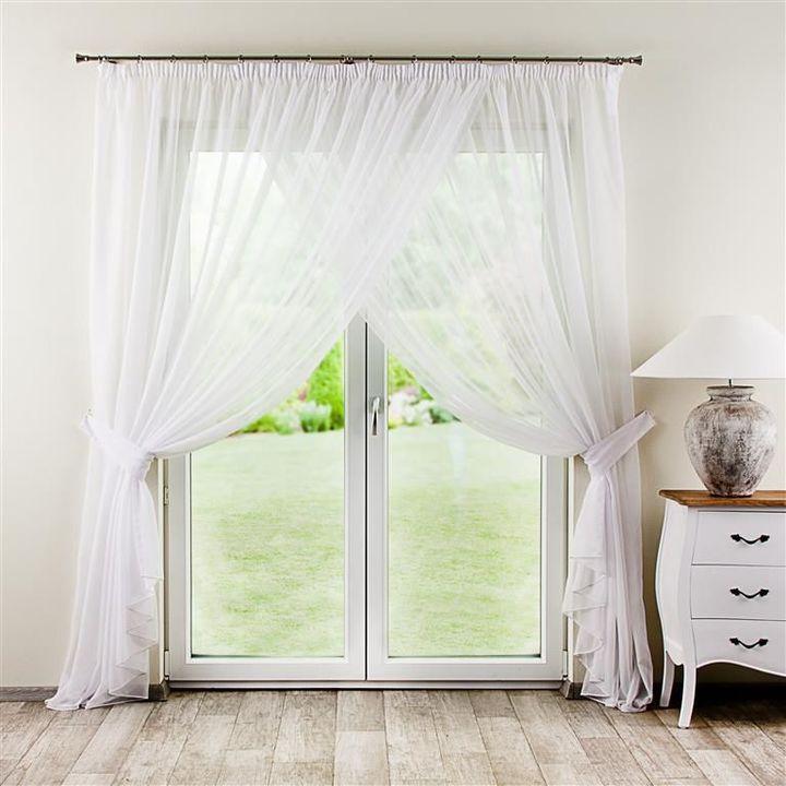 Dekoria Gardine Rapla - Werbung #Wohnen #Wohntextilien #Textilien - design gardinen wohnzimmer