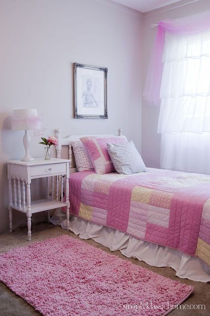 Little S Princess Room Makeover Bedroom Ideas Home