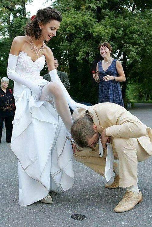 Femdom bride pics