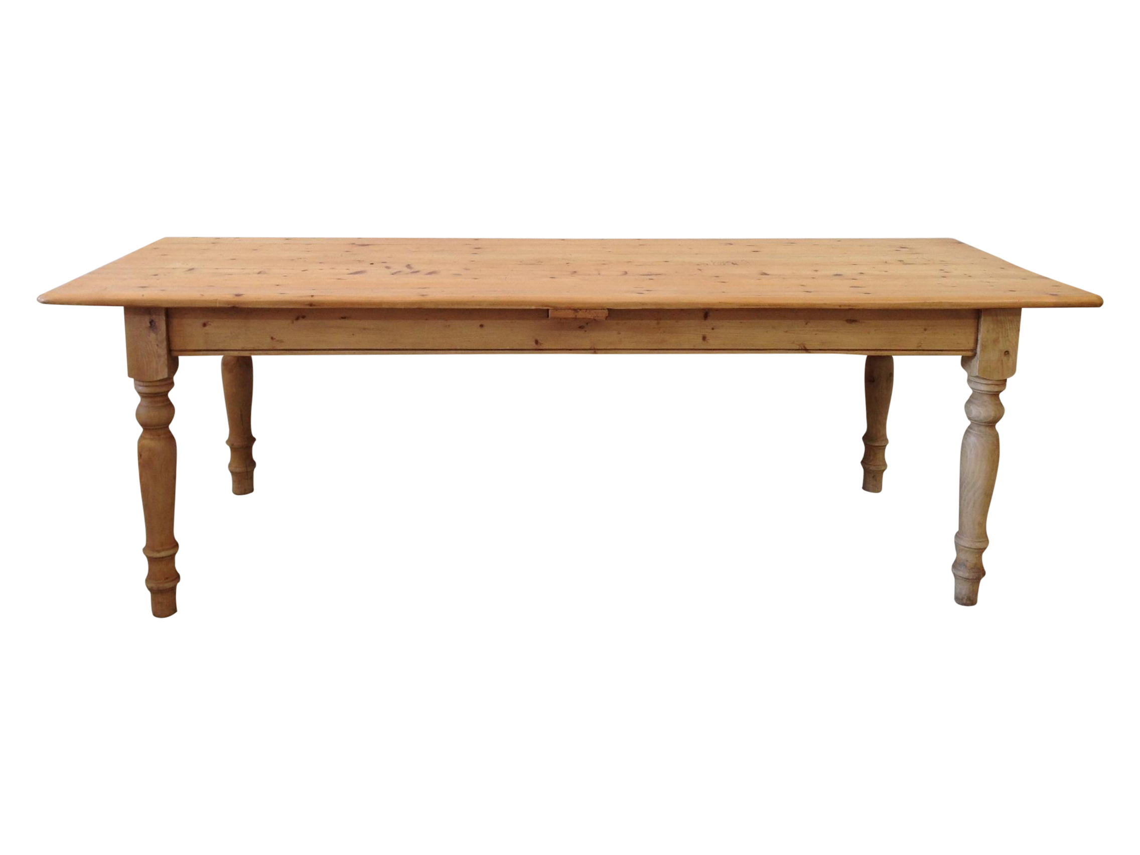 Rustic Pine Dining Table On Chairish Com Pine Dining Table