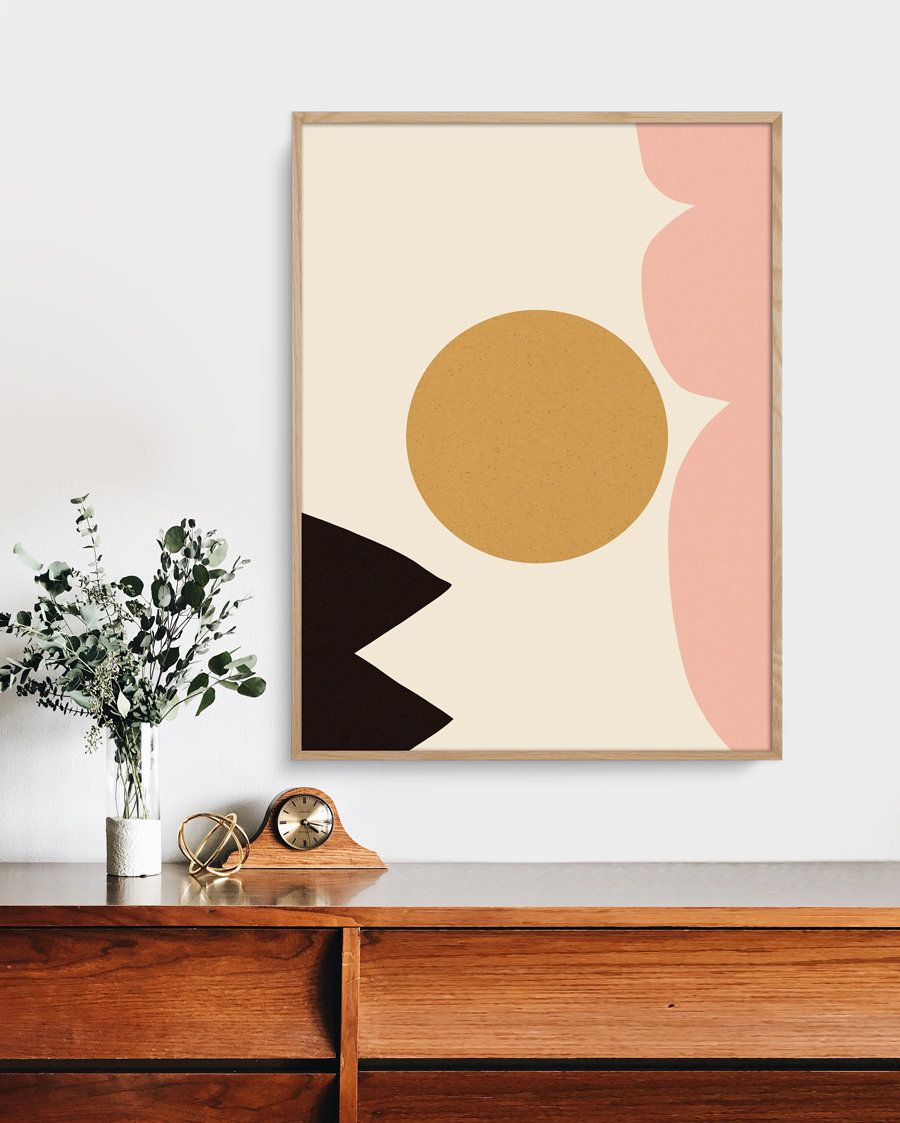 Large Abstract Minimalistic Painting Printable Art Art To