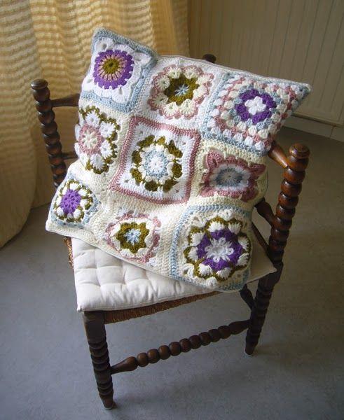 Textiel Handwerken Granny Square Haken Jannie Pinterest Haken